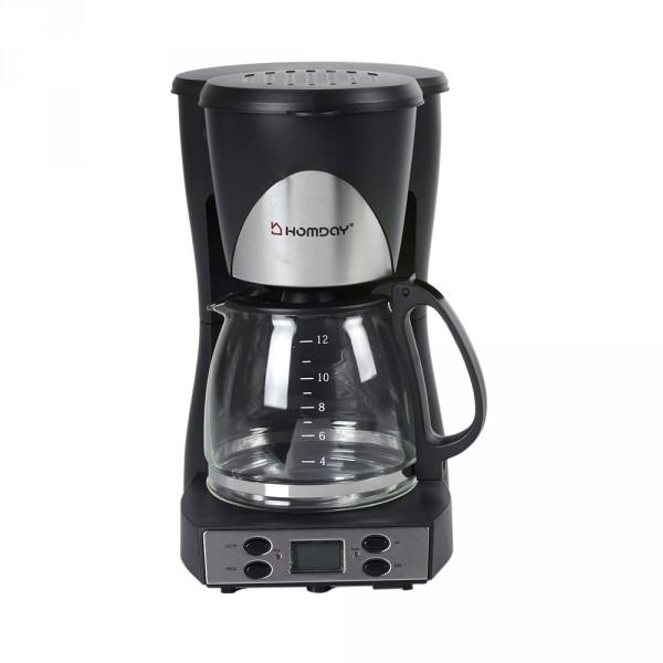 cafetière électrique homday noire (GiFi-337254X)