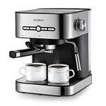 AEVOBAS Cafetière Expresso, Machines à Café Expresso 15 Bars, Machine à  Expresso avec Mousseur