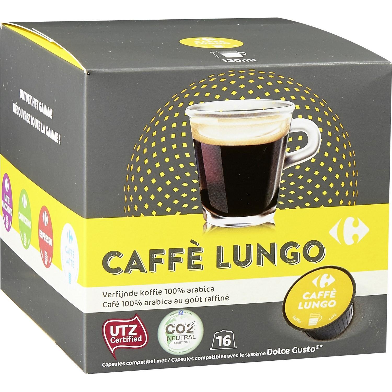 Café Capsules Lungo Carrefour Pas Cher Au Meilleur Prix