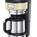 Russell Hobbs Machine à Café 1000W, Cafetière Filtre 1L Rétro Vintage,  Isotherme, Rapide