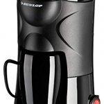 Dunlop - Machine à café à 1 Tasse 170 W Filtre Permanent – idéal pour la