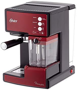 Oster - BVSTEM6601R-050 Prima Latte - Machine à Espresso avec Mousseur à  Lait -