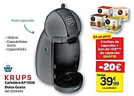 Cafetiere Nespresso Carrefour