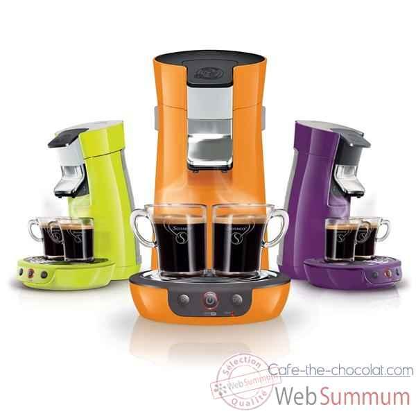 Philips cafetiere senseo orange vitamine - viva cafe Cuisine -7674