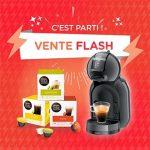 Machine à café Dolce Gusto offerte pour l'achat de boissons