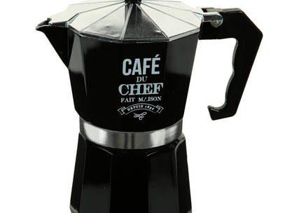 Cafetière à l'italienne 6 tasses, D 10 x H 18 cm