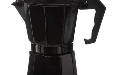 Cafetière Italienne 6 Tasses 18cm Noir PARIS PRIX pas cher à prix Auchan