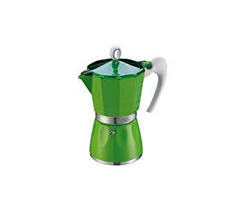 GAT – Cafetière Italienne en Aluminium – Coloranda Vert – 6 Tasses …