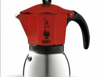 CAFETIÈRE ITALIENNE INDUCTION Bialetti Moka Express rouge 6 tasses …