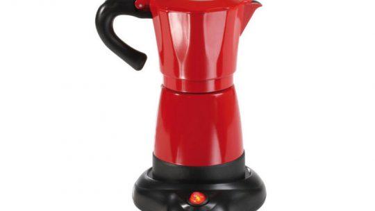Cafetière italienne électrique 6 tasses 480w rouge/noir – dod117 …