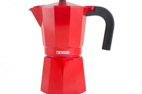 Cafetière italienne Monix 6 tasses Rouge