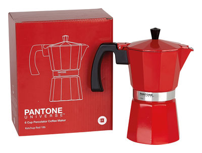 cafetiere italienne rouge 9 tasses