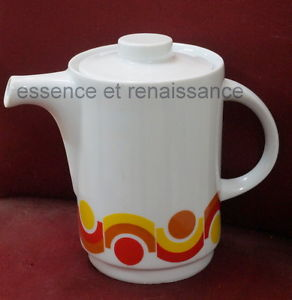 Ancienne cafetière en porcelaine Italienne .   eBay