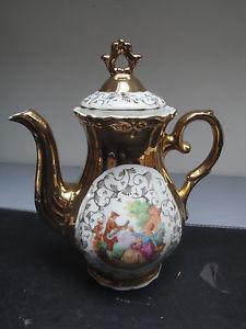 Petite Cafetière Porcelaine Italienne   eBay