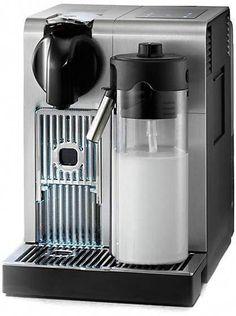 Nespresso by Delonghi Lattissima Pro Capsule Espresso and Cappuccino Machine  - EN750. MB #HomeCoffeeMachines