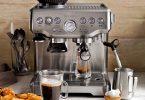 Breville Barista Express Espresso Maker, Model # BES870XL. Built in hopper+  16 setting grinder
