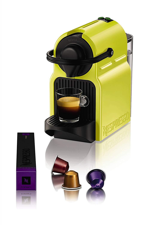 Krups Nespresso xn1002 Inissia Cafetière à Capsules avec pack de bienvenue  avec 16 Capsules, citron jaune: Amazon.fr: Cuisine & Maison