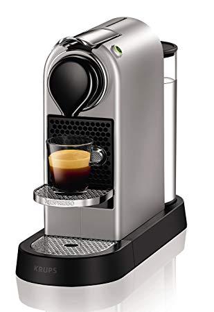 Krups Machine à café Nespresso xn740b New Citiz, système de chauffage à  thermobloc, réservoir