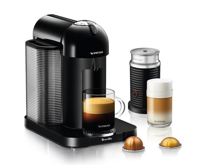 Nespresso Breville VertuoLine BLACK Bundle with Aeroccino 3 - Espresso  Planet Canada