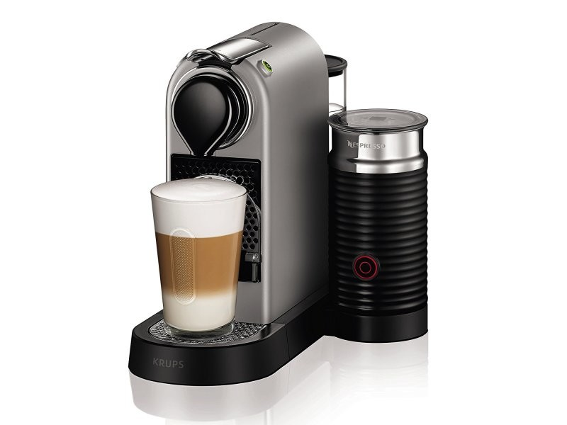 Krups - xn760b - cafetière nespresso citiz et milk titan 19 bars