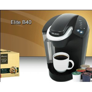 Keurig B40. Ad Code. Several years ago when I first heard about single  serve coffee makers that used pods or cups of pre-measured coffee, I was a  little ...