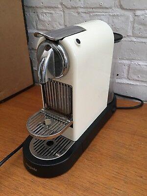 Magimix Nespresso Citiz Coffee Machine, Cream, used, in Good working  condition.