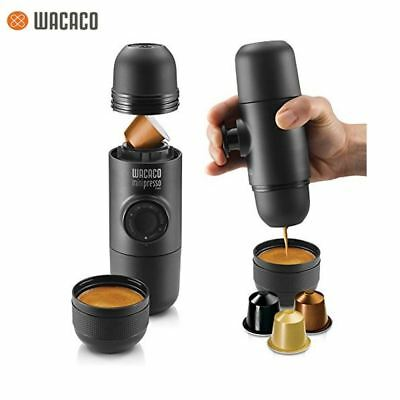Minipresso Portable Machine à Expresso Nespresso Capsule dessous Cafetière  NS