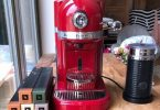 """... Parts / Replacement Water Reservoir. """" PicClick Exclusif · Nespresso  Artisan coffee machine by Kitchenaid. Red. Fantastic condition"""