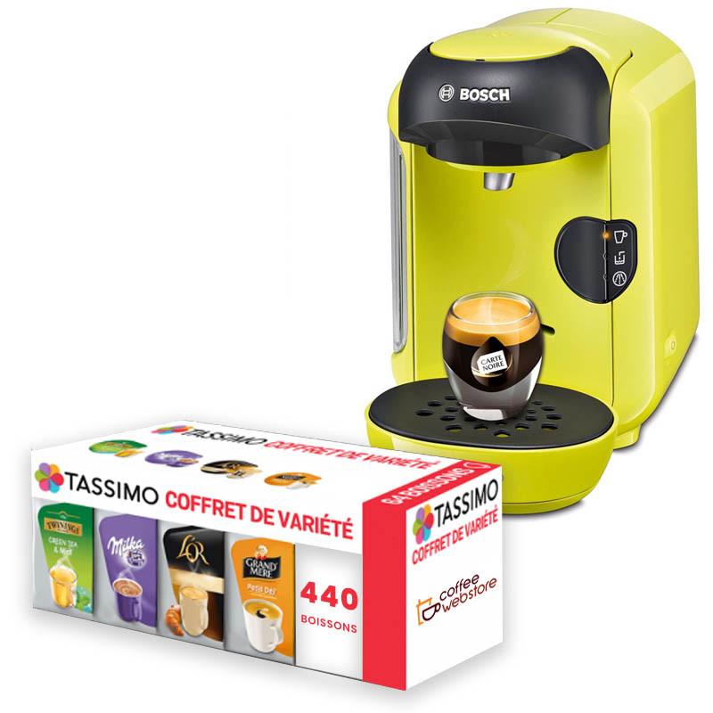 ... Machine Tassimo Vivy Jaune Citron : Bosch TAS1256 ...