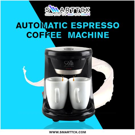 Adoolla's 450W electric & automatic 2 cups drip coffee maker! Only at  $35.99… #coffee #coffemaker #blackcoffee #coffeaddict #coffeshop  #coffelatte ...