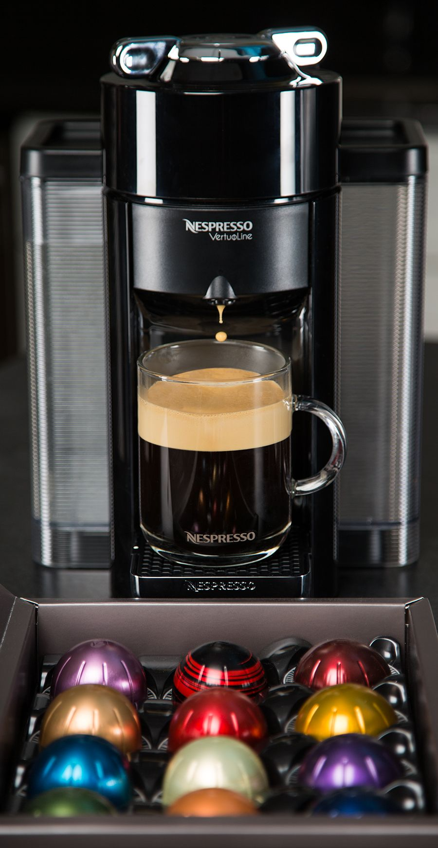 The Nespresso Evoluo Machine can brew a perfect cup of coffee - and espresso!  -