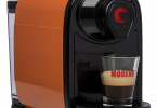 ... Gallery: PIPITA COFFEE MACHINE FOR CAPSULES - NESPRESSO COMPATIBLE -  ORANGE + 100 CAPSULES CAFFÈ ...