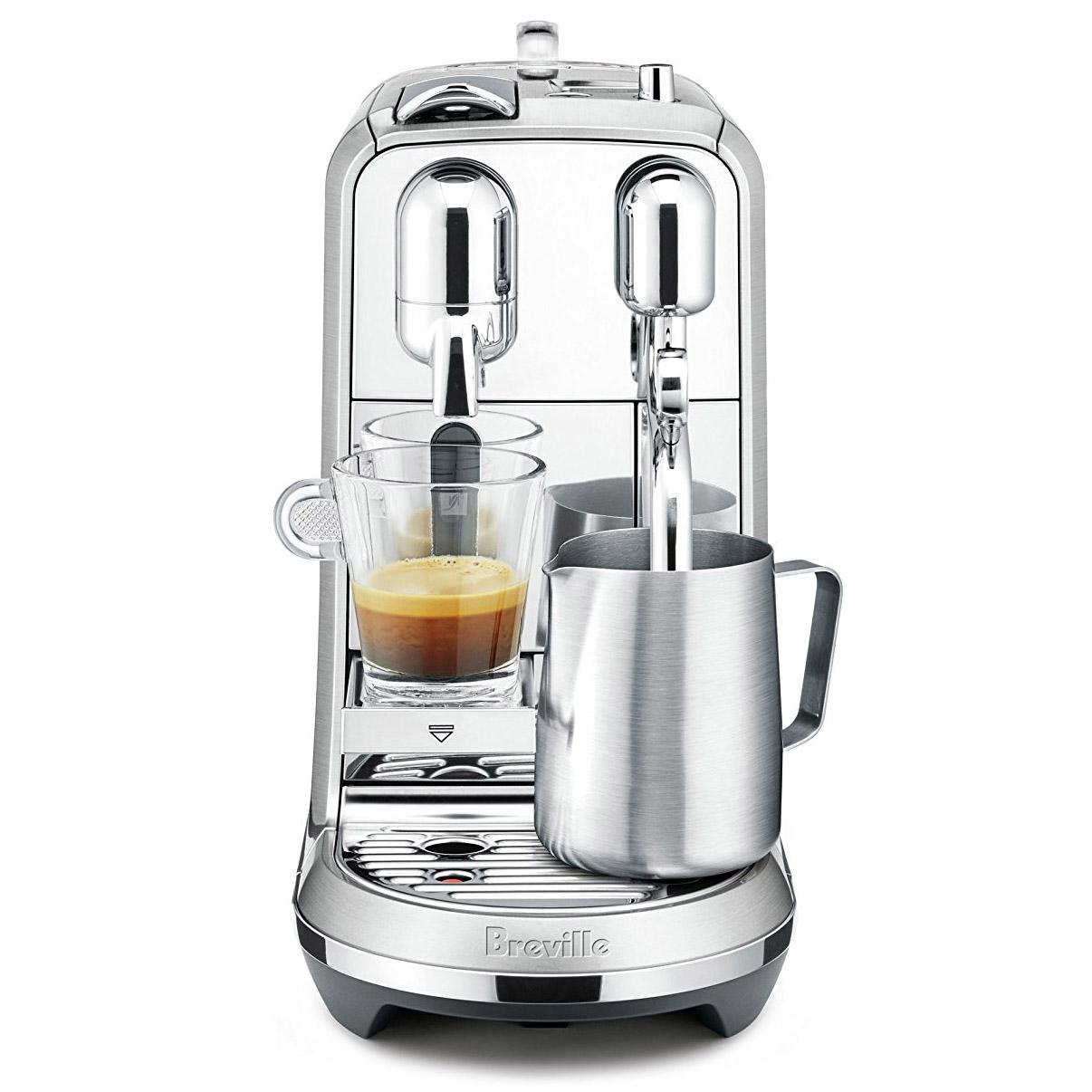 Breville Creatista Plus Nespresso Single Serve Espresso Machine BNE800BSS -  Espresso Planet Canada
