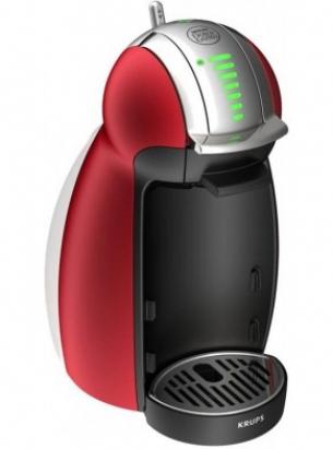 KRUPS Machine à Capsule Nescafe Dolce Gusto GENIO Rouge Métal YY1782FD -  Intermarché Shopping
