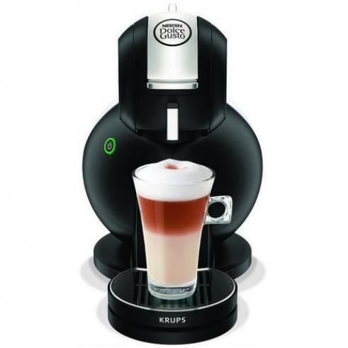 KRUPS Cafetiere a dosette YY1600FD Nescafé Dolce Gusto Melody Noir Mat