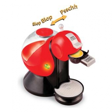 Smoby Assortiment cafetiere dolce gusto (Aubergine ou rouge)